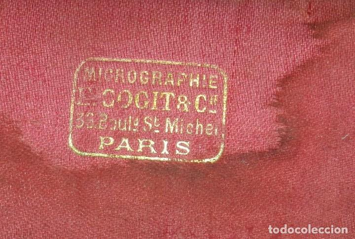 """Antigüedades: APARATO SIGLO XIX DE MICROGRAFIA, MICROGRAPHIE ETALE PREPARATIONS """"BOTELHO"""", E. COGIT & CIE PARIS, E - Foto 6 - 263955515"""