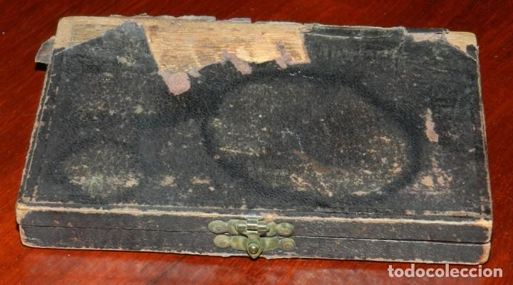 """Antigüedades: APARATO SIGLO XIX DE MICROGRAFIA, MICROGRAPHIE ETALE PREPARATIONS """"BOTELHO"""", E. COGIT & CIE PARIS, E - Foto 7 - 263955515"""