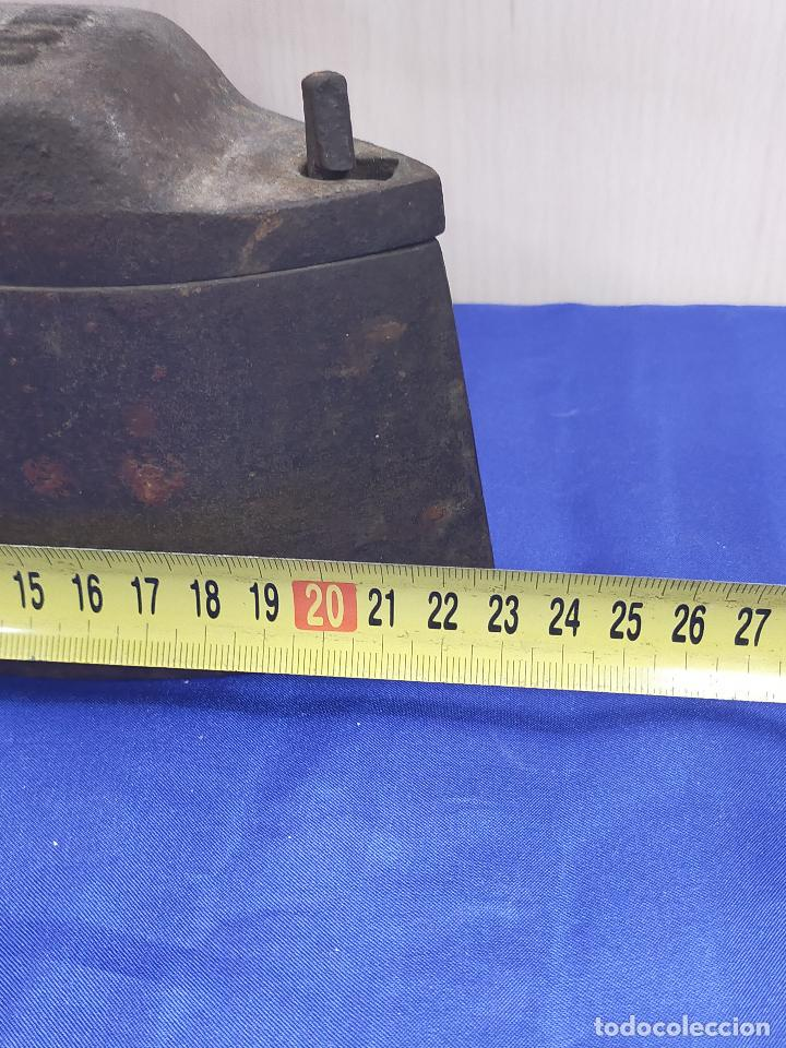 Antigüedades: Antigua plancha de sastre de gran tamaño 23 cm ucr - Foto 5 - 264140412