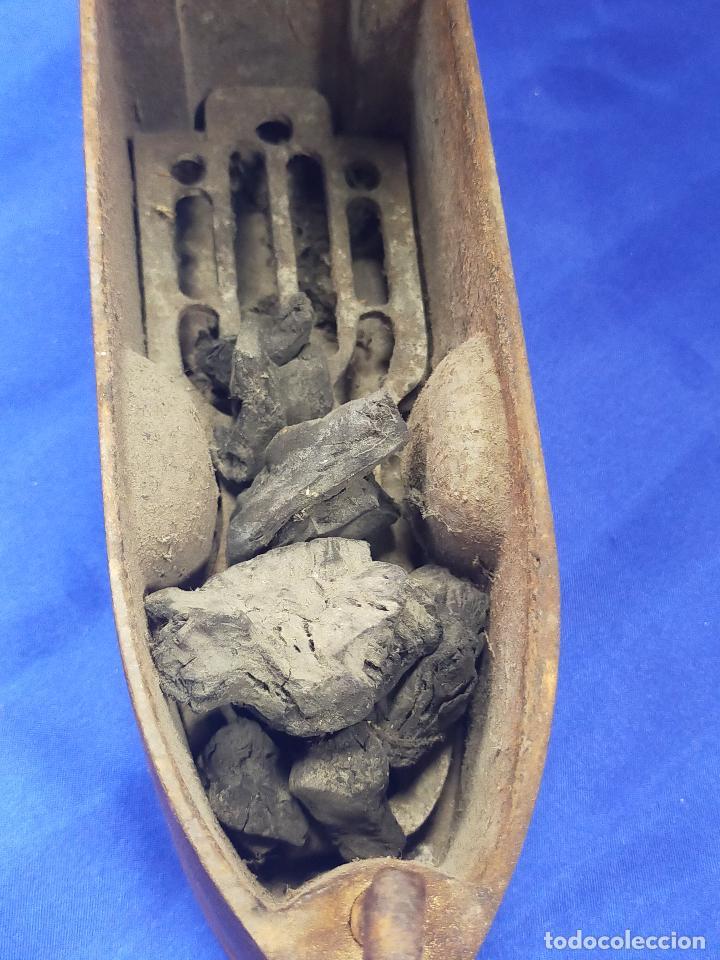 Antigüedades: Antigua plancha de sastre de gran tamaño 23 cm ucr - Foto 6 - 264140412