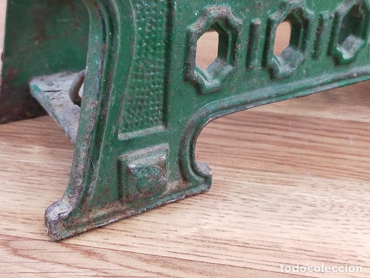Antigüedades: ANTIGUA BALAZNA CON PLATOS - Foto 11 - 264146780