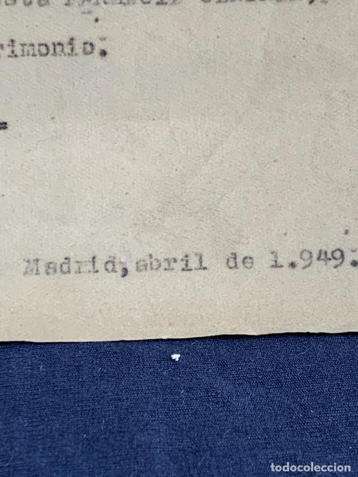 Antigüedades: CUADERNO CARPETA FARMACOS REAL OFICINA FARMACIA ESTUCHES MEDICAMENTOS VENTAS ESTUDIO 1949 33X25CMS - Foto 9 - 264163632