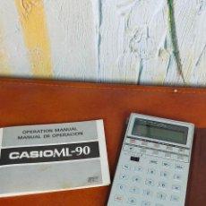 Antigüedades: CALCULADORA CASIO ML-90. Lote 264225924