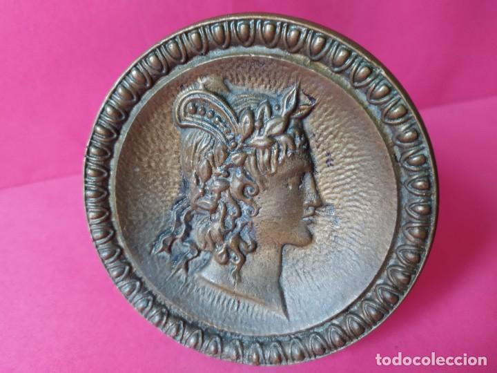 Antigüedades: ANTIGUO TIRADOR POMO BRONCE. - Foto 2 - 264234416