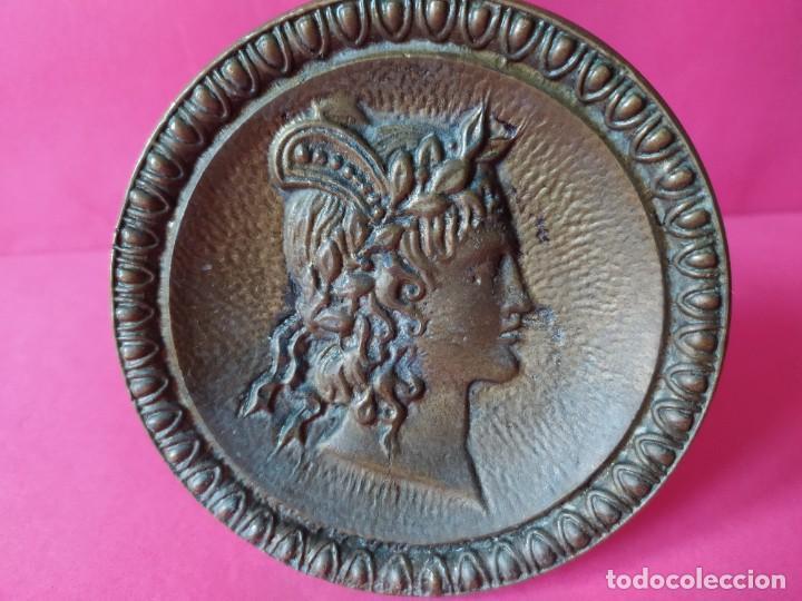 Antigüedades: ANTIGUO TIRADOR POMO BRONCE. - Foto 5 - 264234416
