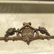 Antigüedades: ANTIGUO REMATE DE BRONCE PARA MUEBLE O CAMA -. Lote 264323776