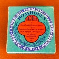 Antigüedades: BOMBONES LLORCA FARMACIA. Lote 264342476