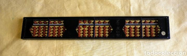 Antigüedades: ABACO JAPONES - SOROBAN - DE BAKELITA CON FIRMA. ENVIO CERTIFICADO INCLUIDO. - Foto 3 - 264352004