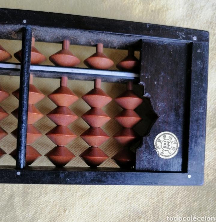 Antigüedades: ABACO JAPONES - SOROBAN - DE BAKELITA CON FIRMA. ENVIO CERTIFICADO INCLUIDO. - Foto 5 - 264352004