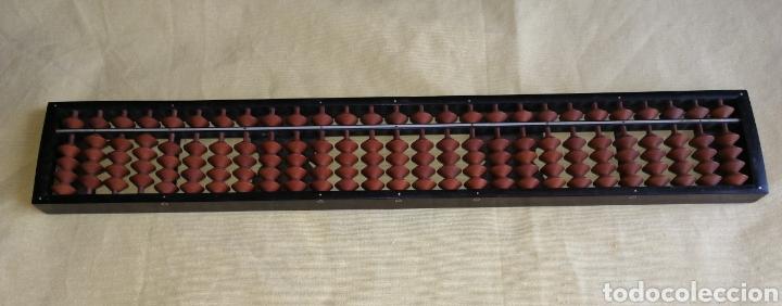 ABACO JAPONES - SOROBAN - DE BAKELITA CON FIRMA. ENVIO CERTIFICADO INCLUIDO. (Antigüedades - Técnicas - Aparatos de Cálculo - Ábacos Antiguos)
