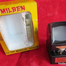 Antigüedades: MILBEN - 200 - TV TIPO MICROSCOPIO PROYECTOR - MADE JAPAN. Lote 264433104