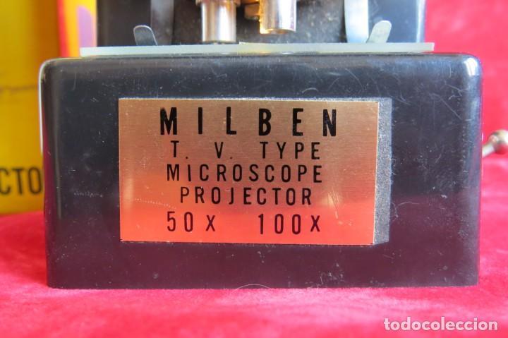 Antigüedades: MILBEN - 200 - TV TIPO MICROSCOPIO PROYECTOR - MADE JAPAN - Foto 5 - 264433104