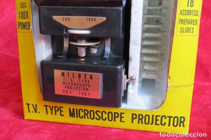 Antigüedades: MILBEN - 200 - TV TIPO MICROSCOPIO PROYECTOR - MADE JAPAN - Foto 15 - 264433104