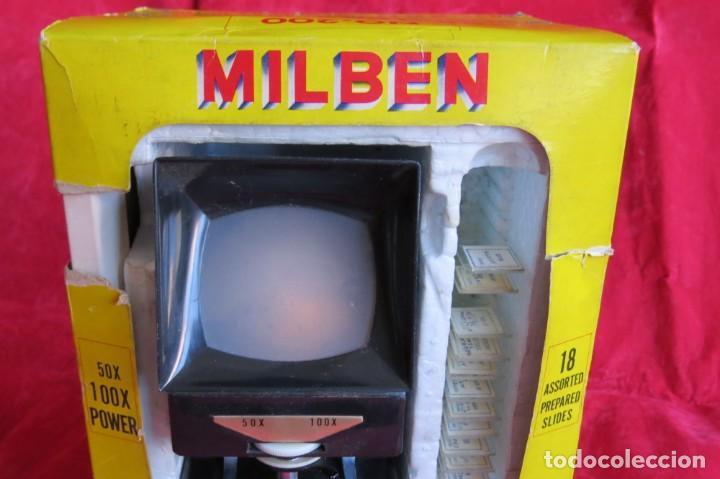 Antigüedades: MILBEN - 200 - TV TIPO MICROSCOPIO PROYECTOR - MADE JAPAN - Foto 16 - 264433104