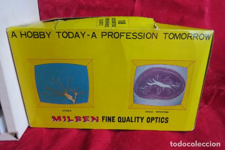 Antigüedades: MILBEN - 200 - TV TIPO MICROSCOPIO PROYECTOR - MADE JAPAN - Foto 28 - 264433104