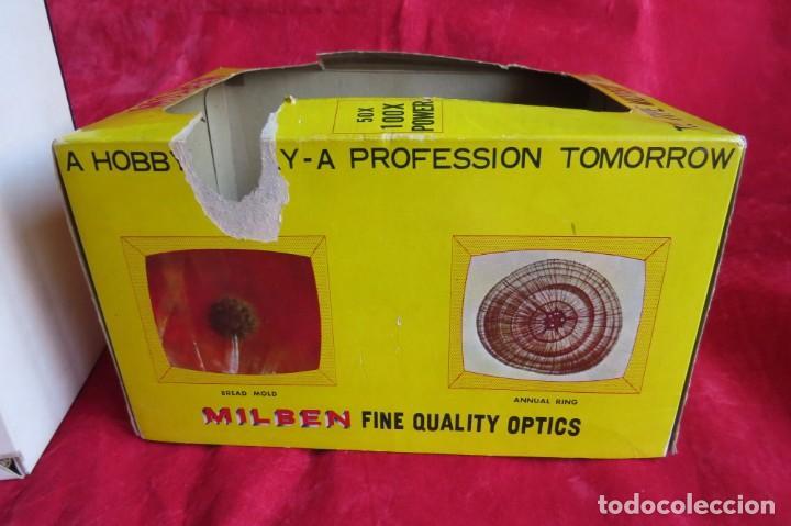 Antigüedades: MILBEN - 200 - TV TIPO MICROSCOPIO PROYECTOR - MADE JAPAN - Foto 31 - 264433104