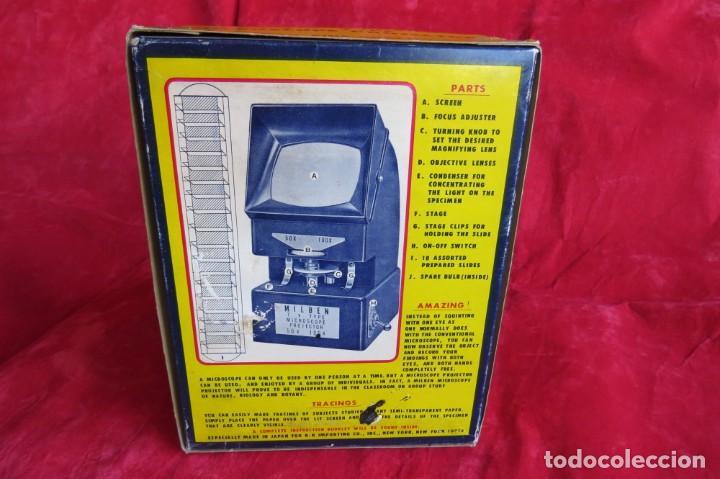 Antigüedades: MILBEN - 200 - TV TIPO MICROSCOPIO PROYECTOR - MADE JAPAN - Foto 32 - 264433104