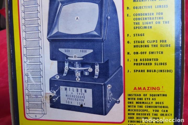 Antigüedades: MILBEN - 200 - TV TIPO MICROSCOPIO PROYECTOR - MADE JAPAN - Foto 34 - 264433104