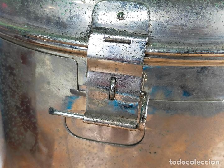 Antigüedades: ESTERILIZADOR GRANDE PARA AUTOCLAVE 32X28 - Foto 2 - 264455879