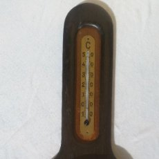 Antigüedades: TERMÓMETRO Y BARÓMETRO ANTIGUO ENBECO C1909. Lote 264501084