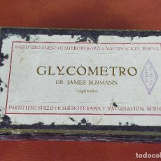Antigüedades: GLYCOMETRO MEDICINA MEDICO. Lote 264525969