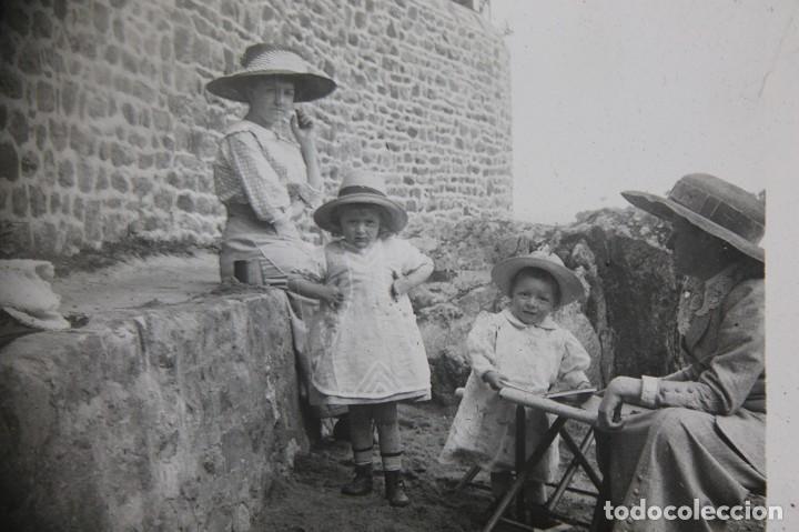 Antigüedades: ANTIGUO VISOR ESTEREOSCOPICO DE SOBREMESA + LOTE DE FOTOGRAFIAS ESTEROSCOPICAS DE CRISTAL -ORIGINAL - Foto 8 - 264780754