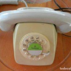 Téléphones: ANTIGUO TELÉFONO HERALDO - TELEFÓNICA ESPAÑA - GRIS - CLAVIJA - AÑOS 70-80 - VER FOTOS.. Lote 264824524