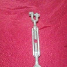 Antigüedades: TENSOR METÁLICO PARA CABLE DE ACERO. Lote 264846604