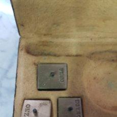 Antigüedades: ANTIGUOS PESOS MEDIDAS. Lote 264984739