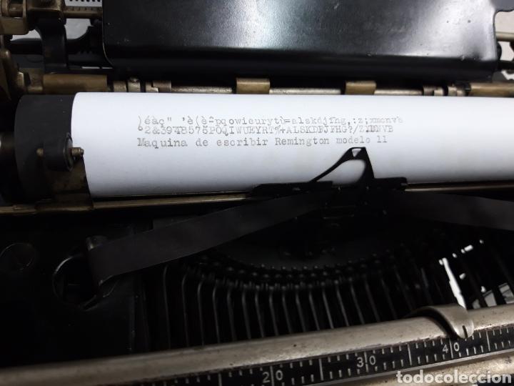 Antigüedades: Maquina de escribir REMINGTON 11 - Foto 4 - 265139464