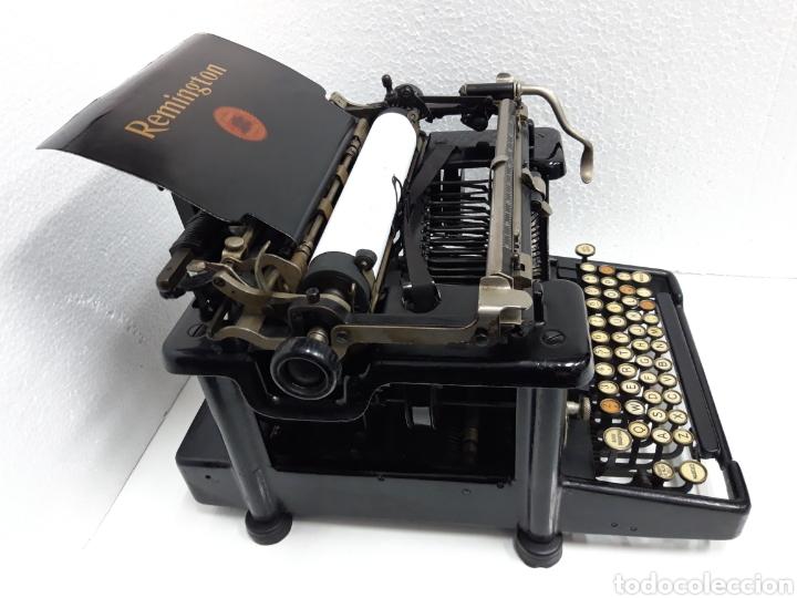 Antigüedades: Maquina de escribir REMINGTON 11 - Foto 7 - 265139464