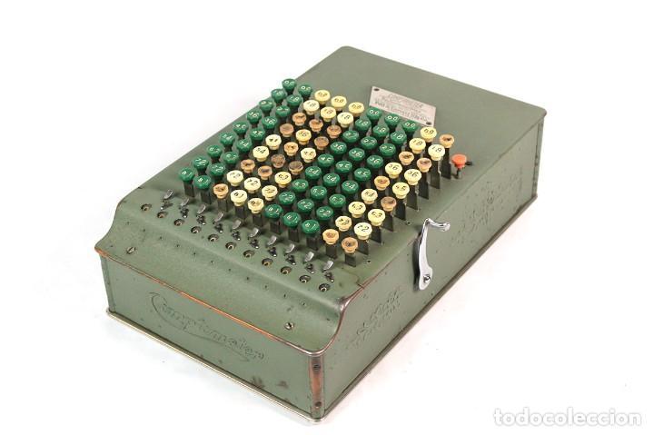 ANTIGUA CALCULADORA COMPTOMETER (Antigüedades - Técnicas - Aparatos de Cálculo - Calculadoras Antiguas)