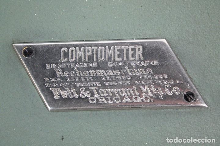 Antigüedades: ANTIGUA CALCULADORA COMPTOMETER - Foto 2 - 265144339