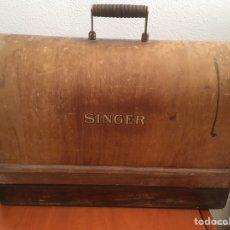 Antiguidades: MÁQUINA DE COSER SINGER. Lote 265146879