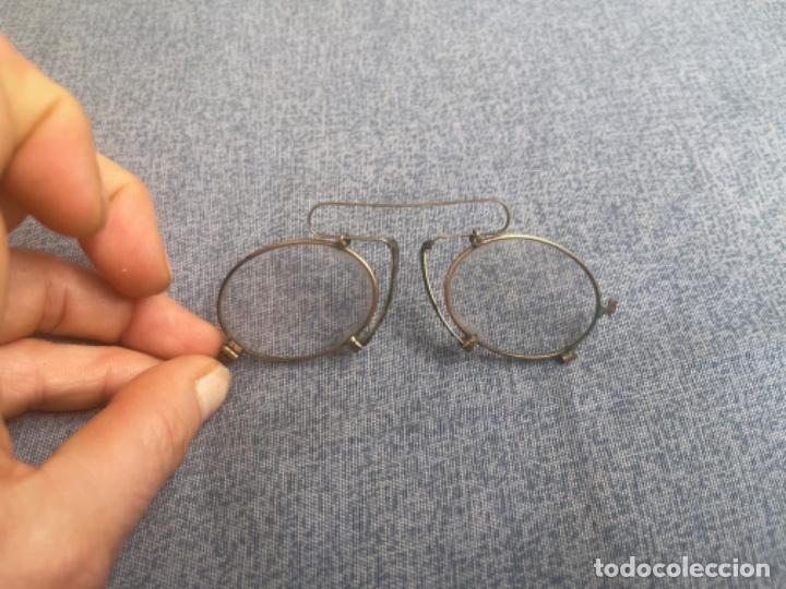 Antigüedades: Antiguas lentes gafas Quevedo sin patillas años 20 ver fotografías - Foto 5 - 265196049