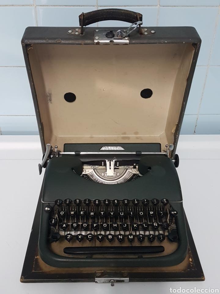 MAQUINA DE ESCRIBIR PORTATIL ANTIGUA PATRIA (Antigüedades - Técnicas - Máquinas de Escribir Antiguas - Patria)