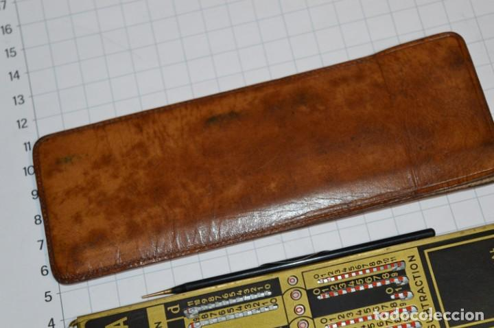 Antigüedades: Antigua CALCULADORA mecánica / Marca ADDIATOR - Modelo ARITHMA - Buen estado ¡Mira fotos/detalles! - Foto 7 - 265346459