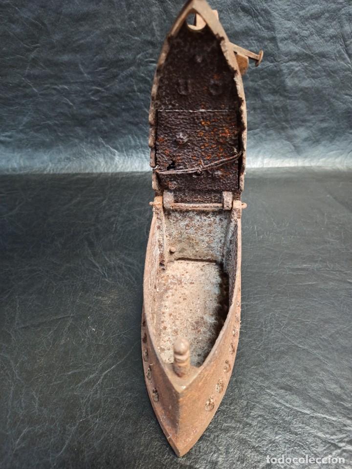 Antigüedades: Antigua plancha de carbón. CG2 - Foto 2 - 265446064
