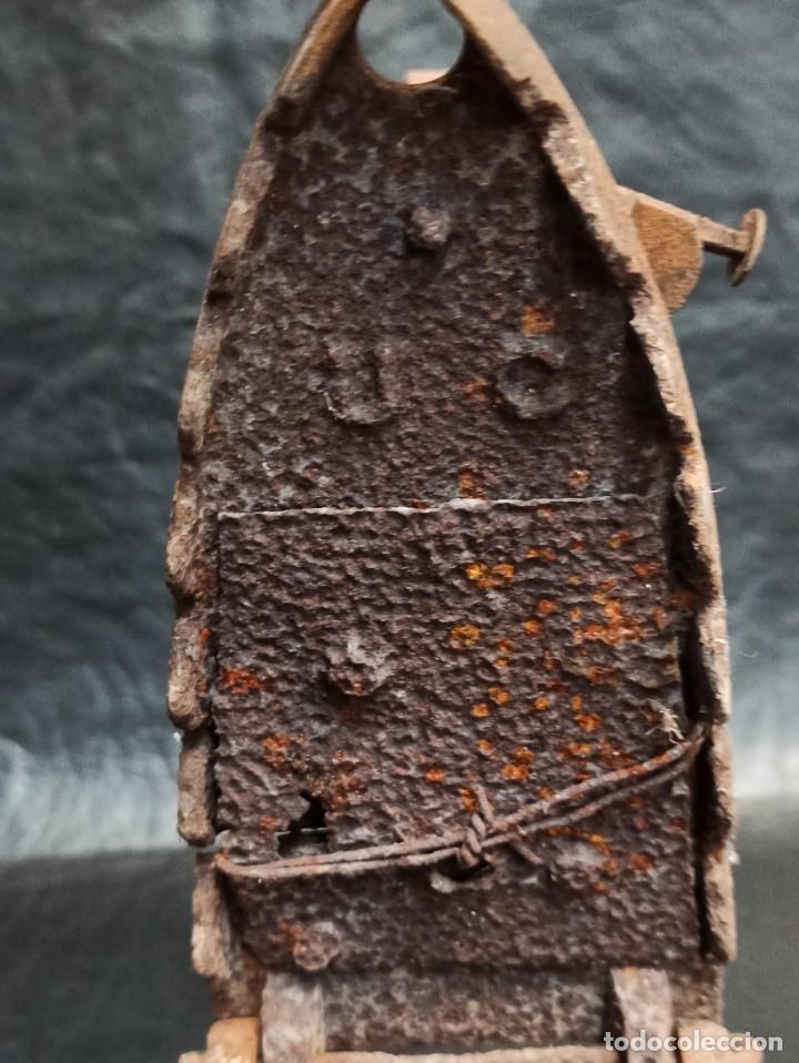 Antigüedades: Antigua plancha de carbón. CG2 - Foto 3 - 265446064