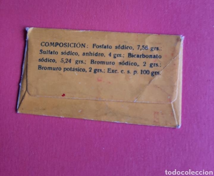 Antigüedades: Hoja de afeitar Reasel. Publicidad regulador gastro-hepático, con funda y caja. Cortesía de Rocador. - Foto 4 - 265460069