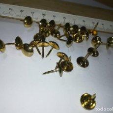 Antigüedades: CLAVO CHINCHETA LISO / APROXIMADO 1 CM / DISPONIBLES / 50 AH62. Lote 265507759