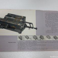 Antiquités: CATALOGO PUBLICIDAD MAQUINA CALCULAR TIGER. Lote 265532239