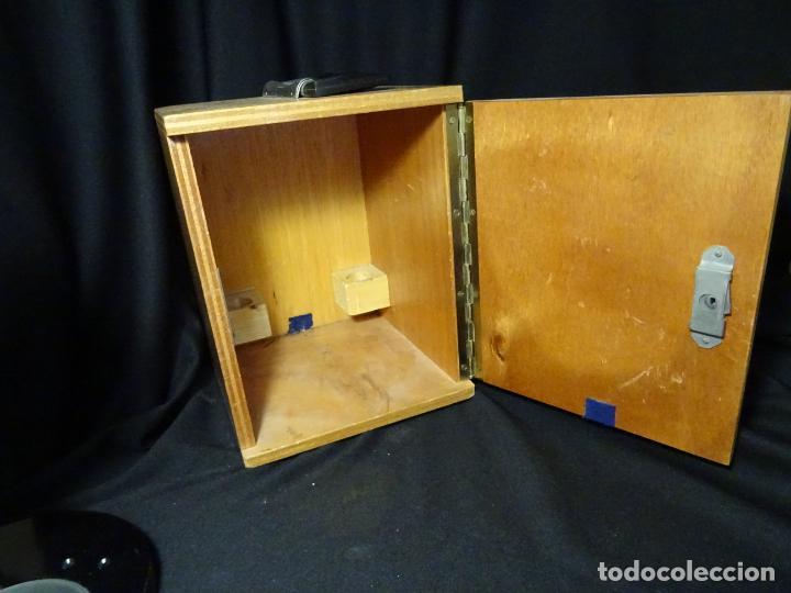 Antigüedades: antigua Lupa binocular española. BOBES, con su caja, microscopio, optica, laboratorio - Foto 9 - 265697449