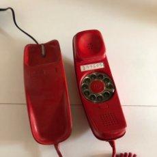 Teléfonos: TELÉFONO GÓNDOLA EN COLOR ROJO TAL Y COMO SE VE EN LAS FOTOS. Lote 265704039