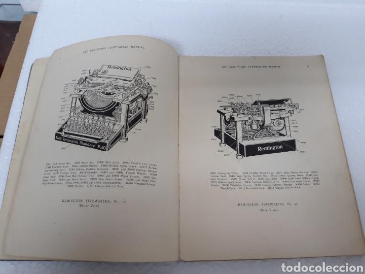 Antigüedades: Manual de maquina Remington 10 y 11 - Foto 3 - 265724329