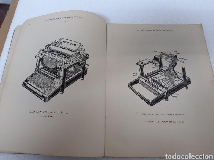 Antigüedades: Manual de maquina Remington 10 y 11 - Foto 4 - 265724329