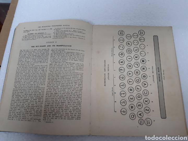 Antigüedades: Manual de maquina Remington 10 y 11 - Foto 5 - 265724329