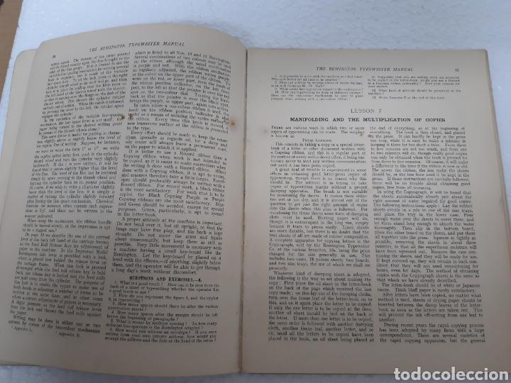 Antigüedades: Manual de maquina Remington 10 y 11 - Foto 6 - 265724329