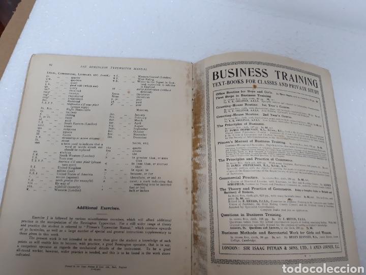 Antigüedades: Manual de maquina Remington 10 y 11 - Foto 11 - 265724329