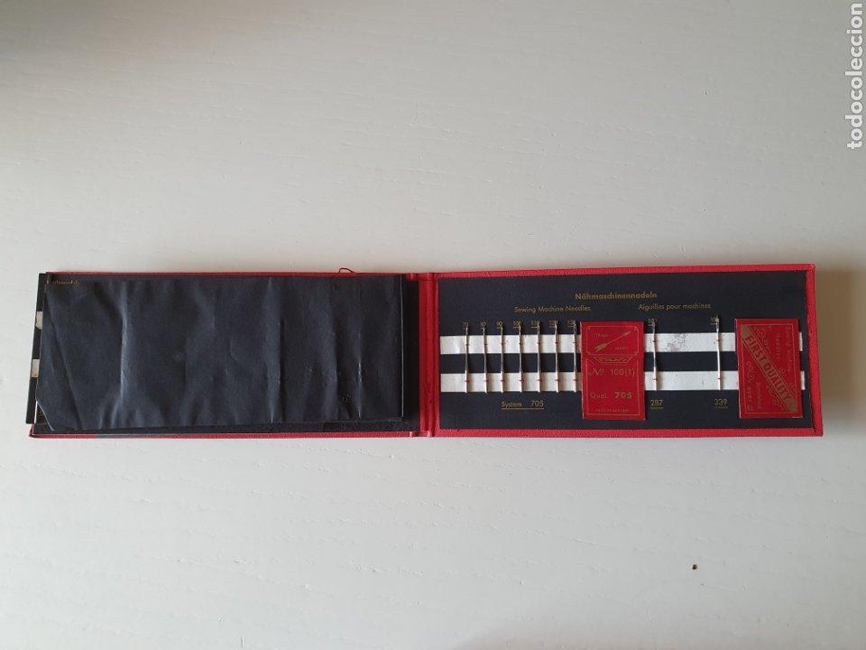 Antigüedades: Antiguos estuches de agujas de coser antiguas manuales y para maquina - Foto 4 - 265807669